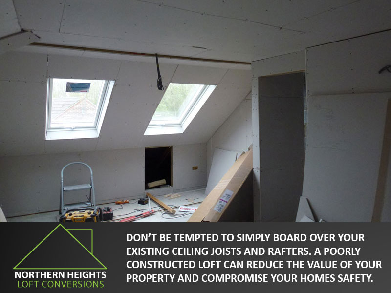 Northern Heights Loft Conversion dont compromise on safety