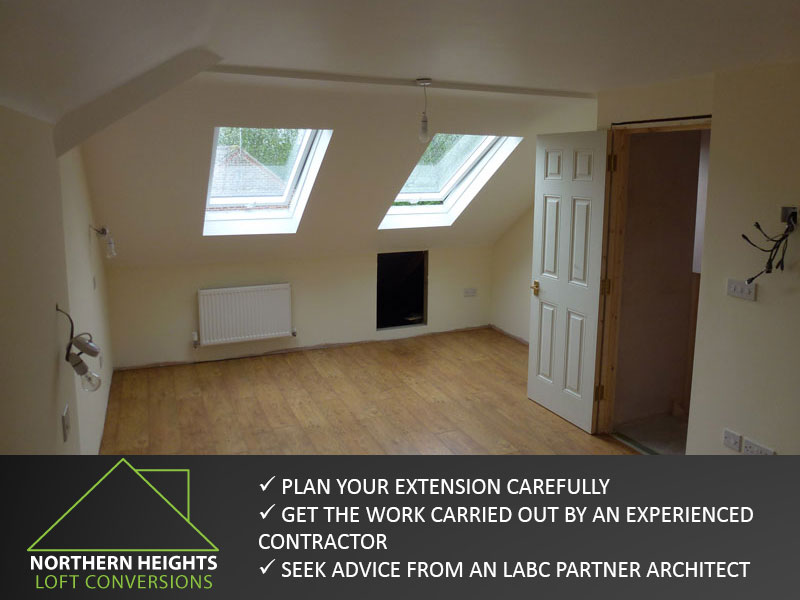 Plan your Loft Conversion Carefully