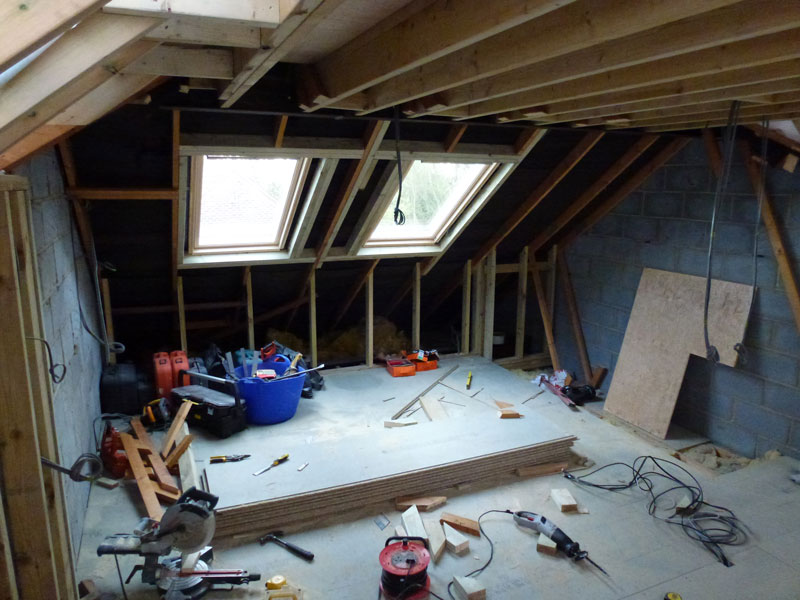 Northern Heights Loft Conversion space created