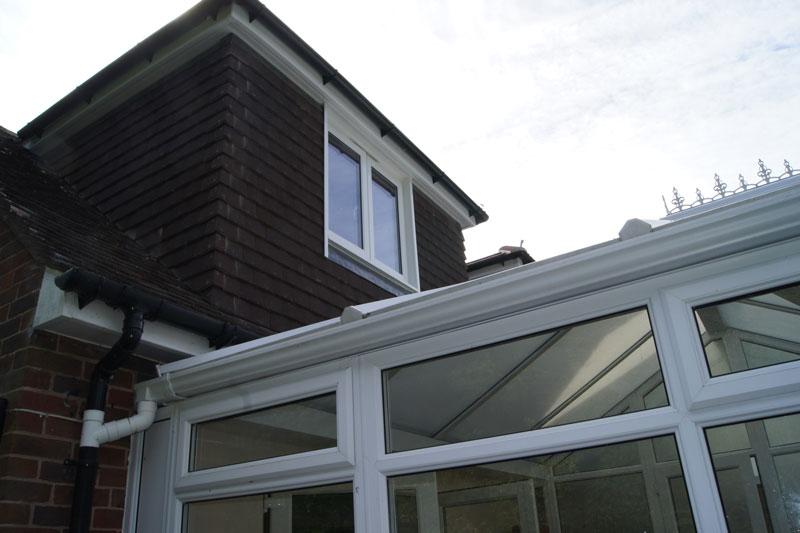 Loft conversion in Worthing 2 - Dormer Loft over conservatory